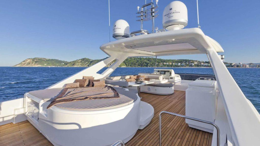 Ferretti Yachts - Luxury yacht interior fabrics