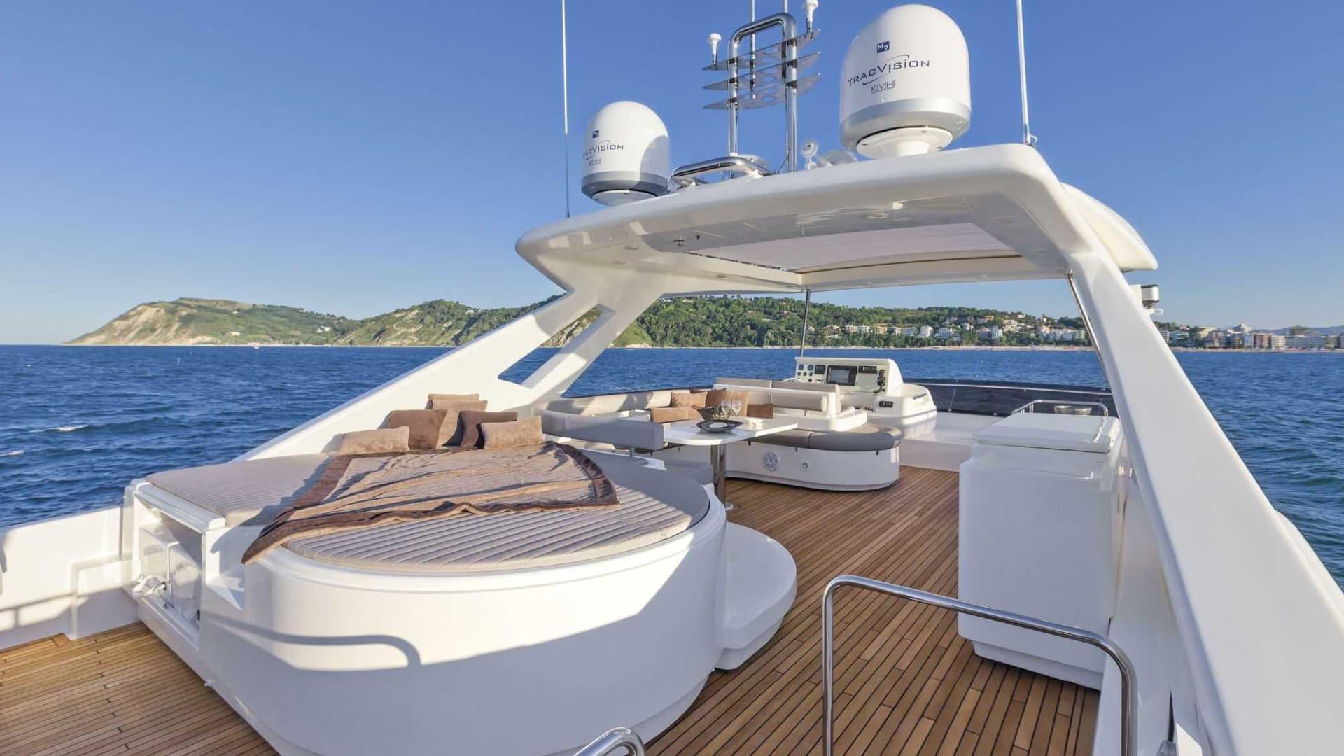 Ferretti Yachts - Italian yacht interior fabrics