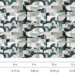 Luxury Fabric Wallcoverings - Misty Ocean