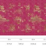 Luxury Fabric Wallcoverings - Red Laquer