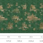 Luxury Fabric Wallcoverings - Peacock