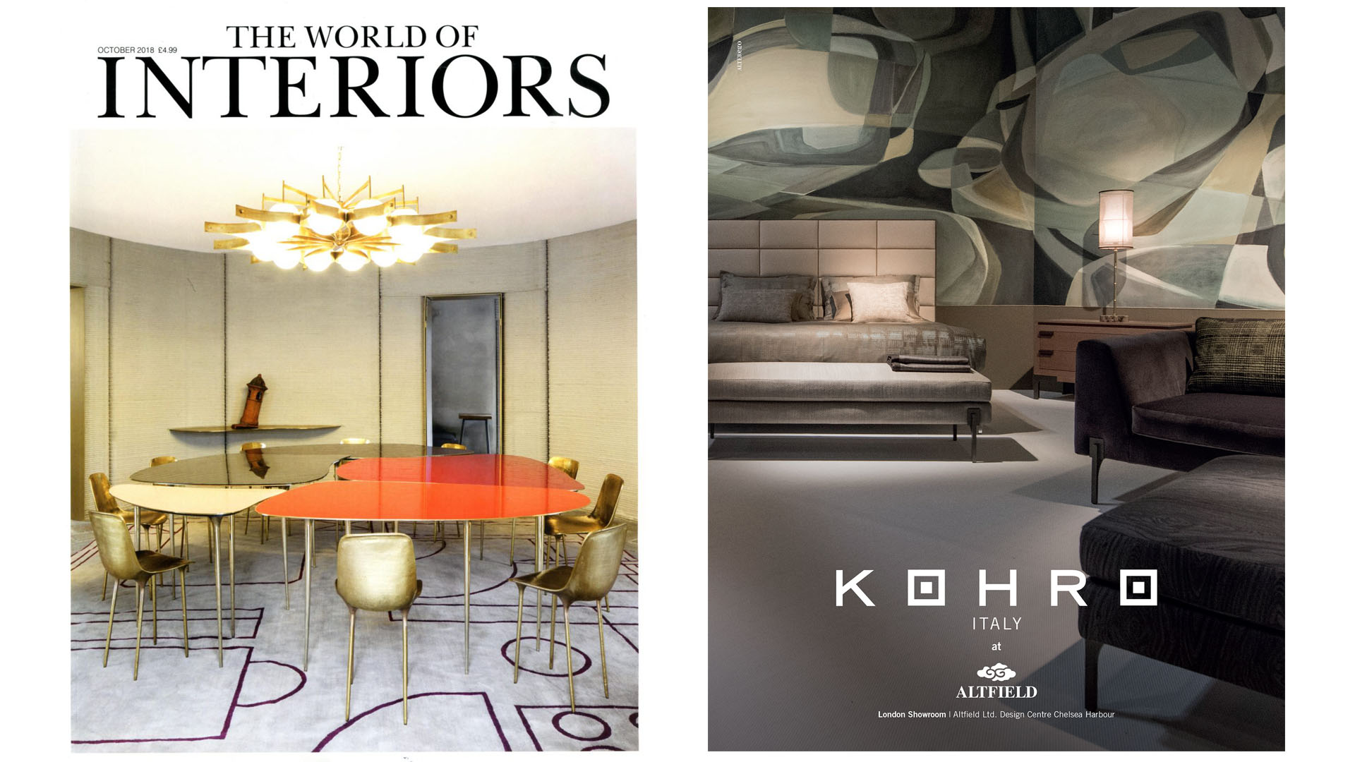 The World of interiors Kohro